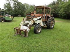 1967 Massey Ferguson 1100 2WD Tractor W/Loader