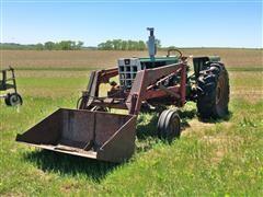 1967 Oliver 1650 2WD Tractor & Loader