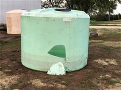 1500-Gallon Poly Storage Tank
