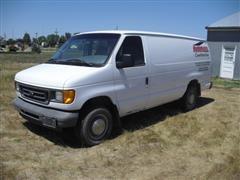 2003 Ford E250 Cargo Van