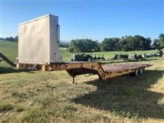 1973 Evans-Plugge T/A Fixed Neck Lowboy W/Hyd Tail Section