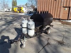 2006 Big John 6' Dbpro Portable LP Grill
