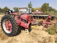 1941 Farmall M 2WD Tractor For Parts