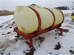 Big John 400 Gal Poly Tank W/Cradle & Stand