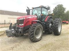 2012 Massey Ferguson 8670 MFWD Tractor