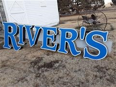 RIVER'S Sign