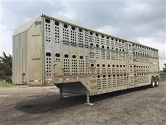 1994 Merritt 50x102 T/A Livestock Trailer