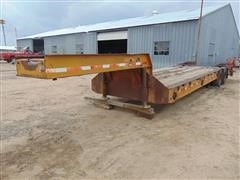 1963 Hyster C25T T/A Lowboy Trailer