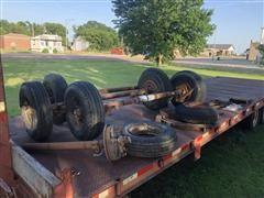 Trailer Axles W/Tires/Wheels