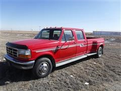 1993 Ford F-350 XLT Ford 4 Door Dually Pickup
