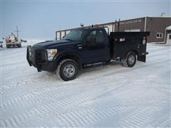 2012 Ford F350 XL Super Duty 4x4 Service Pickup