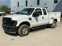 2008 Ford F-250 4WD Extended Cab Utility Truck
