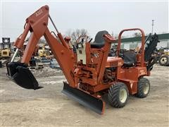 2002 DitchWitch 3700DD Trencher/Backhoe/Backfill Blade