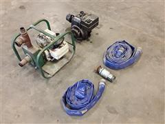 Teel Gas Powered Pump