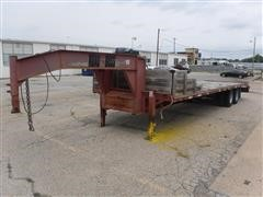 1997 Road Boss 30' T/A Dual Wheel Flatbed Trailer