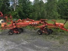 Kuhn GA6000 Drawn Side Delivery Rake