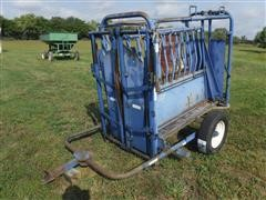 Priefert Portable Squeeze Chute