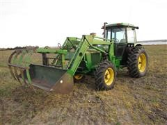 1982 John Deere 2940 MFWD Tractor With Loader
