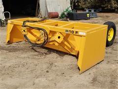 2020 Industrias America 10F 10' Wide Heavy Duty Tilt Box Scraper