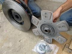 3588 Tractor Clutch Assembly