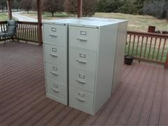 Hon 4 Drawer File Cabinets