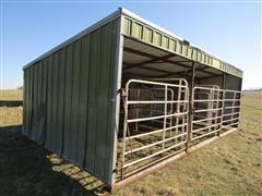 Daniels Mfg Cattle Working Shed