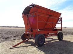 DU-AL 5000 Side Dump Forage Harvest Wagon