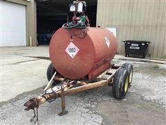 2011 Homemade Pull Type Portable Fuel Trailer