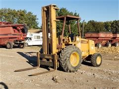 Case 586E Construction King 4x4 Rough Terrain Forklift