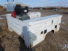 Rawson-Koenig T56T Service/Utility Box W/Air Compressor, Hose & Reel