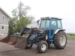 1988 Ford 6610-II 2WD Tractor W/Loader