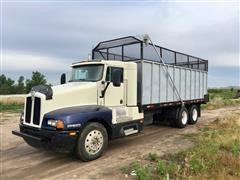 1993 Kenworth KW-T600 T/A Silage Truck