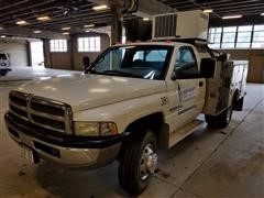 2001 Dodge Ram 3500 Service Truck