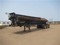2007 Side Dump Industries 42' Tri/A Dump Trailer