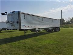 2012 Stoughton AHV-401T-AR-A T/A Hopper Bottom Grain Trailer