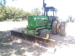 1984 John Deere 4850 2WD Tractor W/Blade