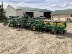 2012 John Deere 1720 18R22 Stack Fold Planter W/Orthman Bar