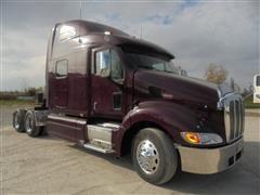 2007 Peterbilt 387 Extended Hood  T/A Truck Tractor