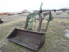 John Deere 48 Tractor Mounted Loader W/Operating Valves