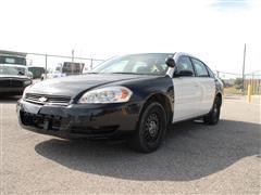 2007 Chevrolet Impala 4-Door Police Sedan