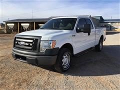 2010 Ford F150 XL 4x4 Extended Cab Pickup