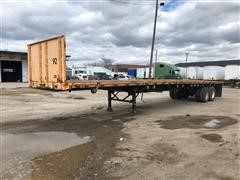 1989 Trailmobile T/A Flatbed Trailer