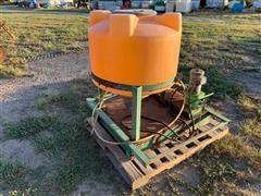 Chemigation Pump And Tank