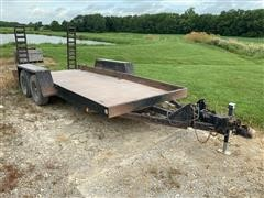 2008 Homemade T/A Flatbed Trailer