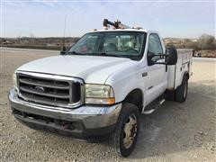 2003 Ford F550 Super Duty Service Truck