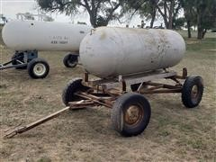 Homemade Portable Propane Tank Trailer