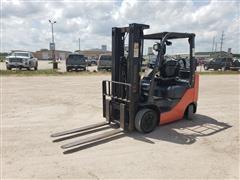 2015 Toyota 8FGCU25 4,500 Lb Capacity Forklift