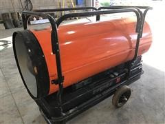 Dayton Portable Oil-Fired 650,000 BTU Heater
