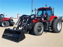 2013 Case IH Magnum 180 MFWD Tractor With Loader