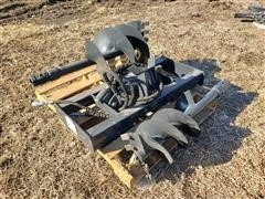 2019 Wolverine Post Hole Digger Skid Steer Attachment